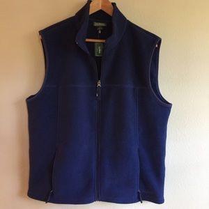 Men's LL Bean Polartec vest Medium